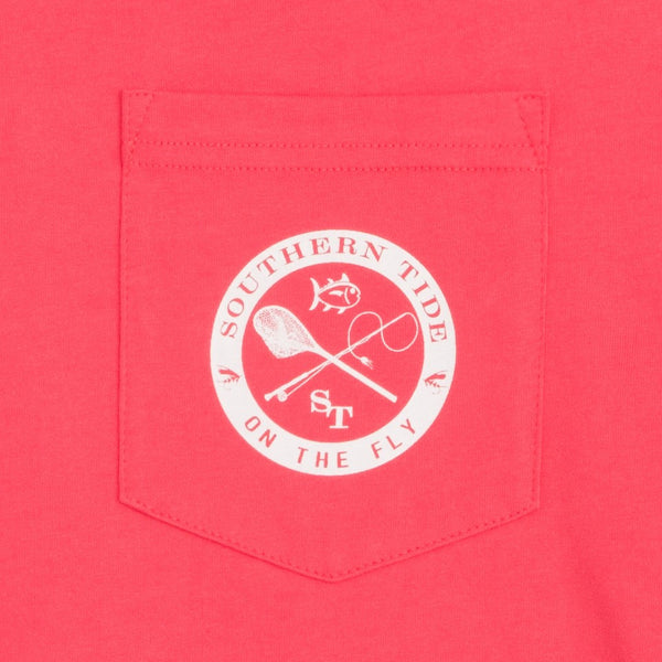 Southern Tide On The Fly Long Sleeve T-Shirt-Ember