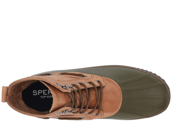 Sperry Top-Sider Men's Huntington Duck boots-Tan/Olive
