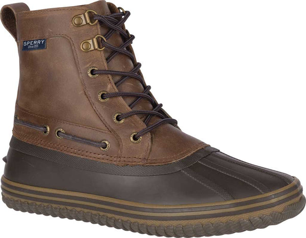 Sperry Top-Sider Men's Huntington Duck boots-Brown/Dark Brown