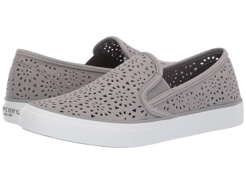 Sperry Seaside Perf slip-on sneaker for women makes a stylish statement with ease. Shop Bennetts for a large selection of womens shoes and sandals with same day shipping..