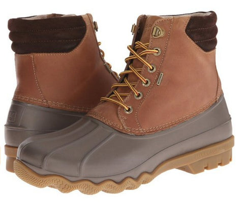 Sperry Top-Sider men's Avenue Duck boots-Tan/Brown - Bennett's Clothing
