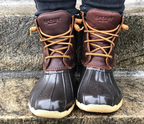 sperry duck boots sale womens