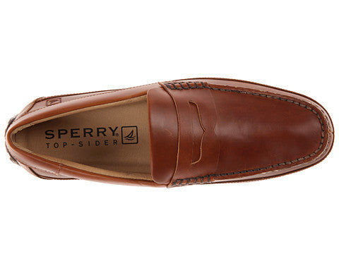 Sperry Top-Sider Hampden Penny loafer-Tan - Bennett's Clothing - 6