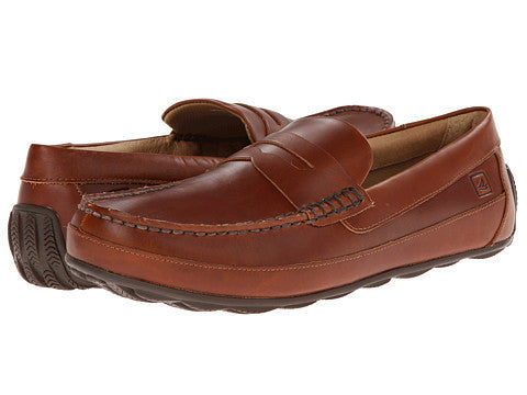 Sperry Top-Sider Hampden Penny loafer-Tan - Bennett's Clothing - 1