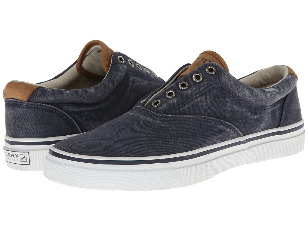Sperry Top-Sider Striper CVO-Navy - Bennett's Clothing - 1