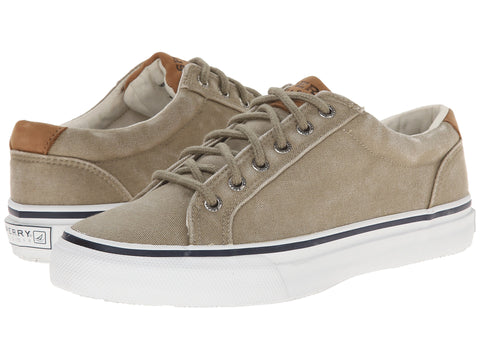 Sperry Men's Striper LTT Shoe-Taupe - Bennett's Clothing - 1