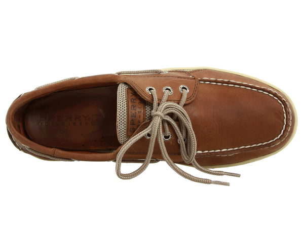 Sperry Top-Sider Mens Billfish Boat Shoe-Dark Tan - Bennett's Clothing - 6