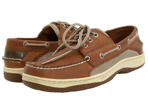 Sperry Top-Sider Mens Billfish Boat Shoe-Dark Tan - Bennett's Clothing - 1