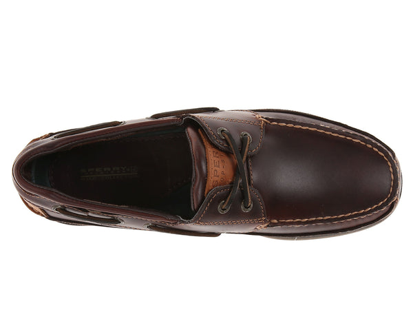 Sperry Top-Sider Mens Mako Boat Shoe-Amaretto - Bennett's Clothing - 6