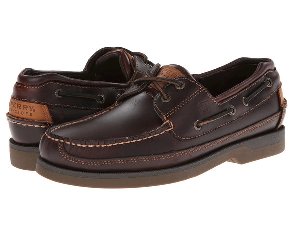 Sperry Top-Sider Mens Mako Boat Shoe-Amaretto - Bennett's Clothing - 1