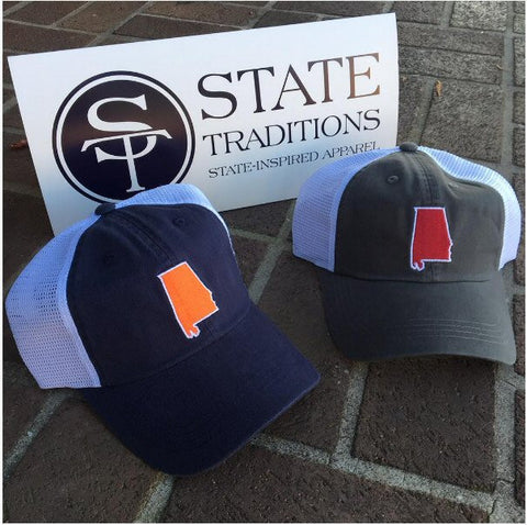 State Traditions Auburn Trucker Hat-Navy - Bennett's Clothing - 1