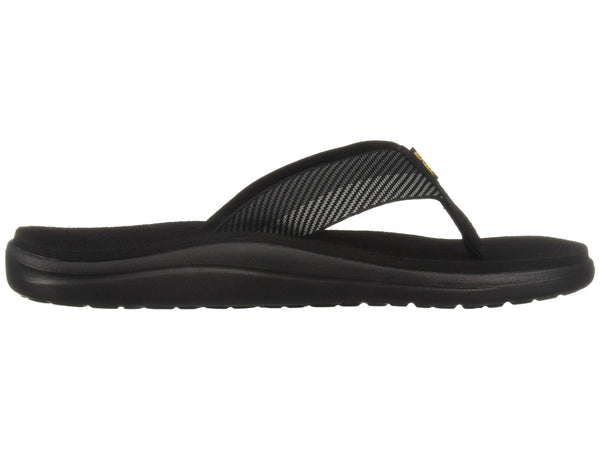 Teva Men's Voya Flip Flops-Vori Black-Grey