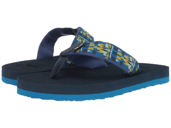 Teva Kids Mush II Flip-flops will keep your little one outfitted for land or water this season. Shop Bennetts for sandals to fit the whole family.