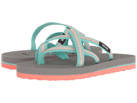 Teva Olowahu Flip-flops will keep your little one outfitted for land or water this season. Shop Bennetts for sandals to fit the whole family.