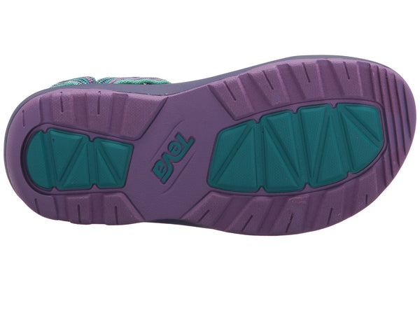 Teva Kids Hurricane XLT2  Sandal-Delmar Sea Glass-Purple