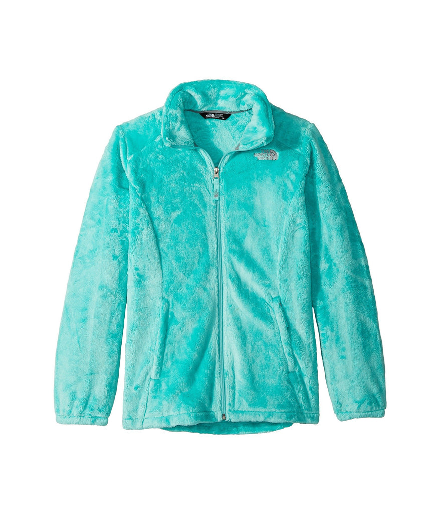 The North Face Girls Osolita Fleece Jacket-Mint Blue