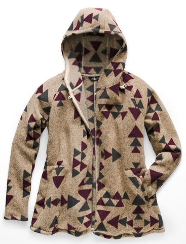 The North Face Women's Crescent Wrap-Peyote Beige Aztec Print