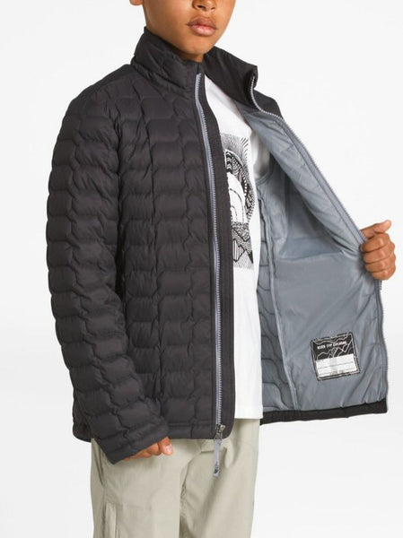 The North Face Boys Thermoball Jacket-Graphite Grey