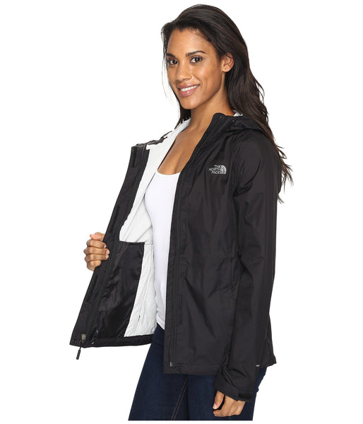 The North Face Womens Venture 2 Rain Jacket-Black