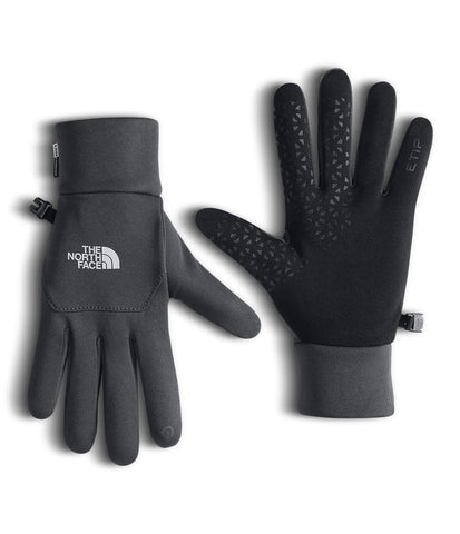 The North Face Etip Gloves-Asphalt Grey
