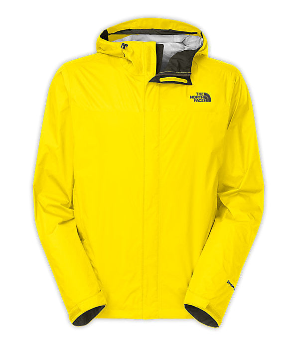 The North Face Men's Venture Jacket-Sulpher Yellow - Bennett's Clothing