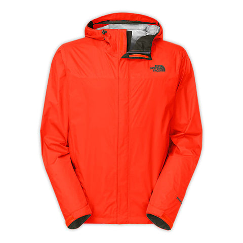 The North Face Men's Venture Jacket-Valencia Orange - Bennett's Clothing