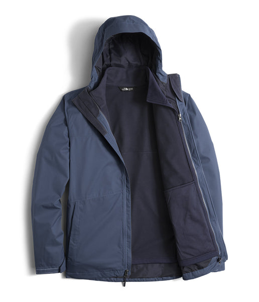 The North Face Mens Arrowood Triclimate Jacket-Shady Blue - Bennett's Clothing - 4