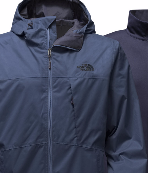 The North Face Mens Arrowood Triclimate Jacket-Shady Blue - Bennett's Clothing - 2