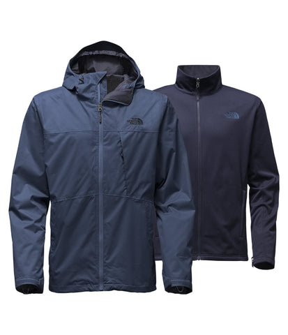 The North Face Mens Arrowood Triclimate Jacket-Shady Blue - Bennett's Clothing - 1