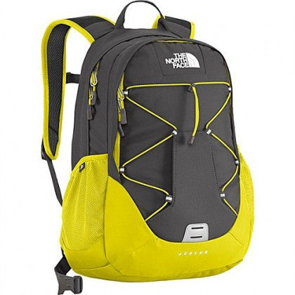The North Face Jester Backpack-Venom Yellow-Asphalt Grey - Bennett's Clothing