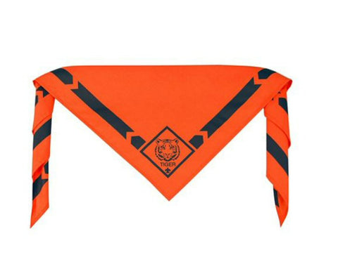 Tiger Scout Uniform Neckerchief-Shop Bennetts Clothing for your Scouting needs. We've been a BSA Authorized Retailer for over 35 years