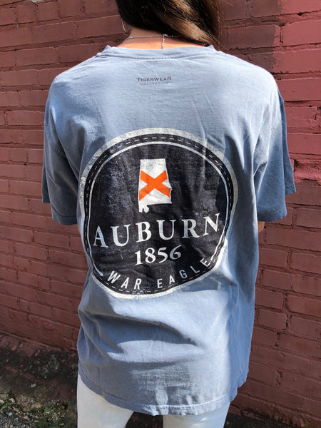 Tigerwear 1856 Badge tee -Shop Bennetts Clothing for your Auburn tees and receive same day shipping