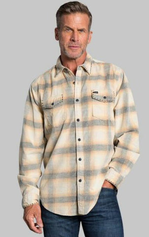 True Grit Drifter Vintage Plaid 2 Pocket Shirt -Shop Bennetts Clothing for a large selection of warm mens outerwear with same day shipping