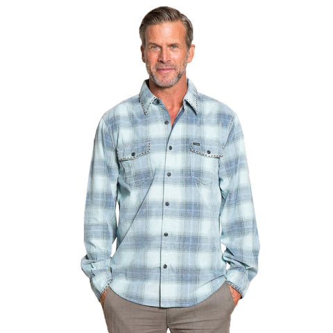 True Grit Trestle Vintage Plaid 2 Pocket Shirt -Shop Bennetts Clothing for a large selection of warm mens outerwear with same day shipping
