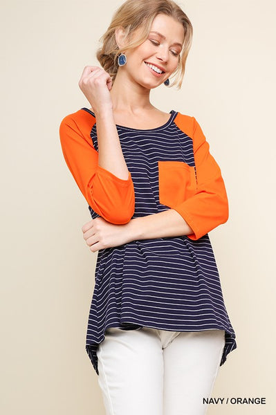 Umgee raglan top -Shop Bennetts Clothing and receive same day shipping