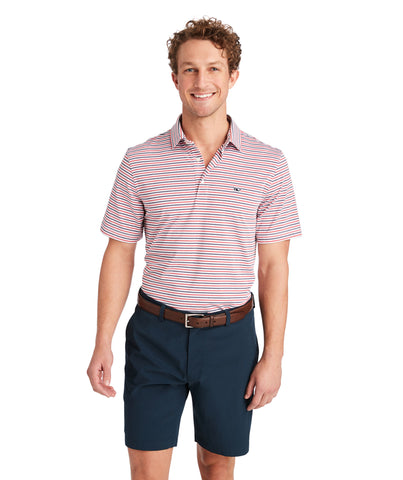 Vineyard Vines Cationic Multi Stripe Sankaty Polo has easy on-the-go looks when heading to the course. Shop Bennetts Clothing for a large selection of the latest fashions from Vineyard Vines