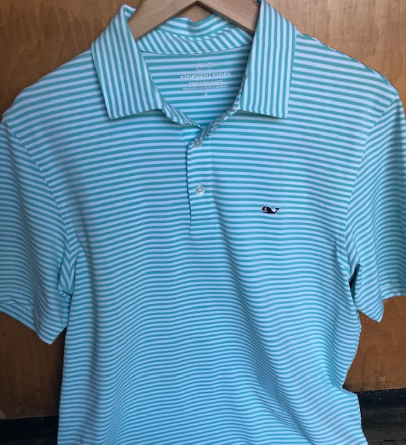 Vineyard Vines Winstead Performance Polo has easy on-the-go looks when heading to the course. Shop Bennetts Clothing for a large selection of the latest fashions from Vineyard Vines