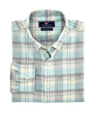 Vineyard Vines Slim fit Tamarind Longshore Shirt looks great dressed up with a jacket or down with your chino shorts. Shop Bennetts Clothing for a large selection of the latest fashions from Vineyard Vines
