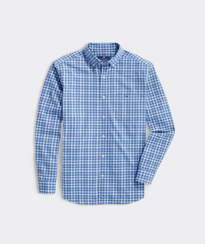 Vineyard Vines Classic Robbins Tucker Shirt looks great dressed up with a jacket or down with your chino shorts. Shop Bennetts Clothing for a large selection of the latest fashions from Vineyard Vines