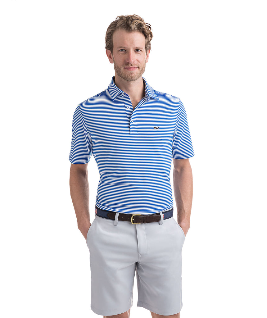 Vineyard Vines Performance Polo has easy on-the-go looks when heading to the course. Shop Bennetts Clothing for a large selection of the latest fashions from Vineyard Vines