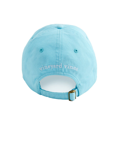 Vineyard Vines Whale Logo Baseball Cap-Pool Side - Bennett's Clothing - 3