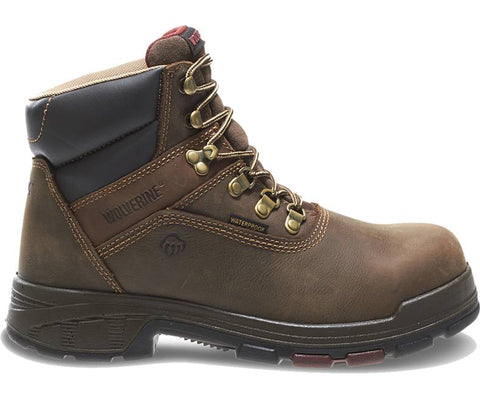Wolverine Mens Cabor EPX Composite Toe Waterproof Boot-Dark Coffee