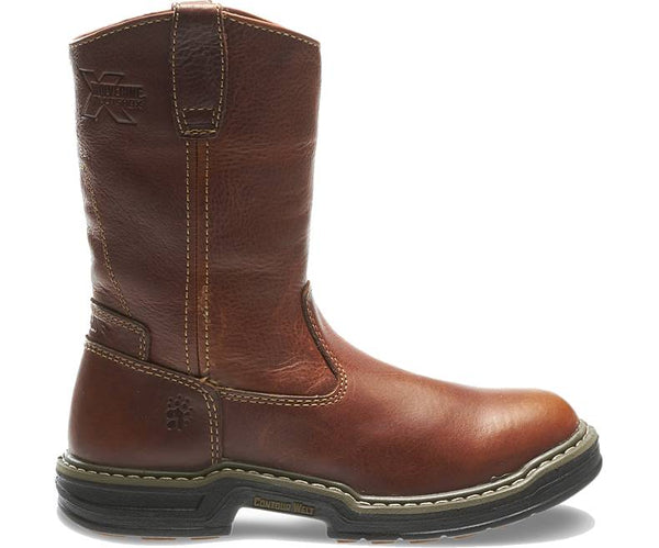 "Wolverine Raider 10"" Pull-on Wellington Boot -Shop Bennetts Clothing for a large selection of mens boots."