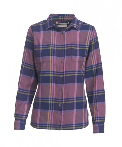Woolrich Women's Pemberton Flannel Shirt-Bellflower
