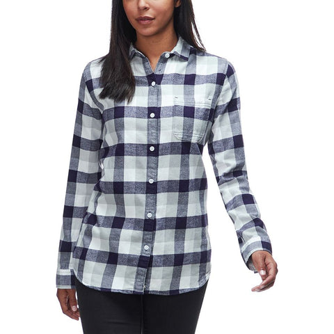 Woolrich ECO Rich Pemberton Boyfriend Plaid Flannel Shirt -Shop Bennetts Clothing for a large selection of Woolrich for men and women.