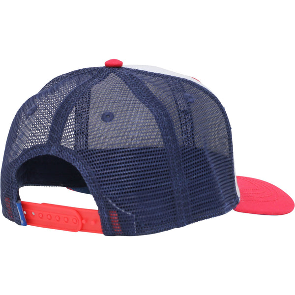 AFTCO Flip Mesh Trucker Hat-Red