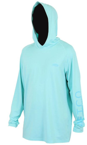 Aftco Samurai Hoodie was made for anglers that want the best sun protection with the most style and comfort. Shop Bennetts Clothing for a large selection of Aftco hats and shorts with same day shipping.
