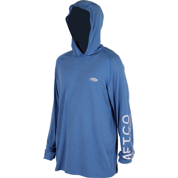 Aftco Samurai 2 Hoodie was made for anglers that want the best sun protection with the most style and comfort. Shop Bennetts Clothing for a large selection of Aftco hats and shorts with same day shipping.