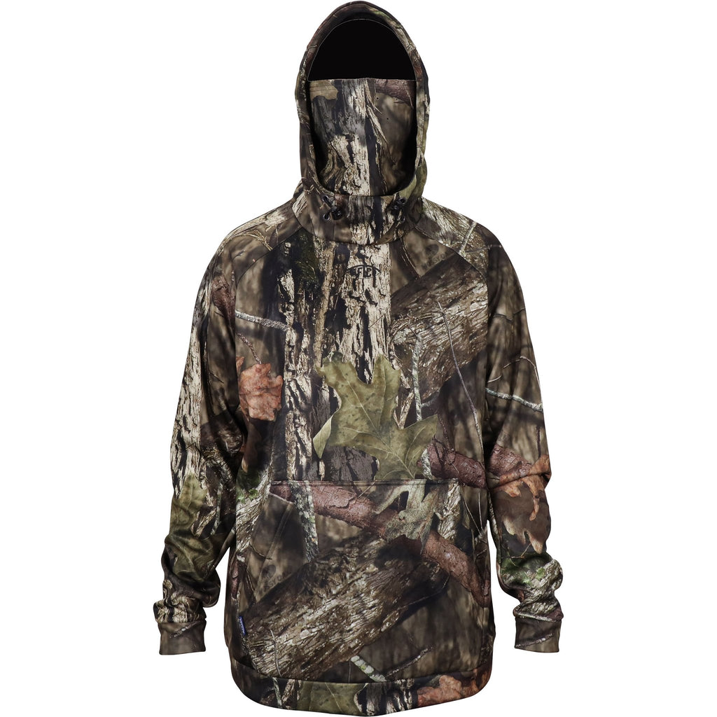 Aftco Mossy Oak Reaper Hoodie Sweatshirt is a gamechanger in the woods for concealment and to stay warm. Shop Bennett's Clothing for a large selection of Aftco hats and shorts with same day shipping.