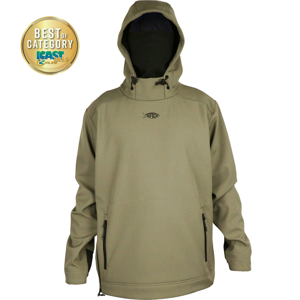 Aftco Windproof Reaper Hoodie pullover was made for anglers that demand the best and want to stay warm doing it. Shop Bennett's Clothing for a large selection of Aftco hats and shorts with same day shipping.